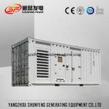 防音のおおいとの1MW容器のパーキンズの電力ディーゼルGenset