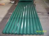 Placa de material para techos de acero acanalada del bajo costo PPGI/PPGL para África