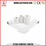 Venta de mejores tamaños personalizados de corrección de tres rollos de papel térmico