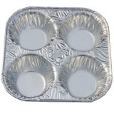 오염 자유로운 항공 알루미늄 호일 캐서롤 석쇠 음식 콘테이너