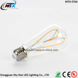 kreativer Lampen-altmodischer Heizfaden-Glühlampe der Beleuchtung-4W der Antike-LED