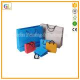 Saco de papel luxuoso feito sob encomenda do presente da compra (OEM-GL-002)
