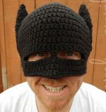 La tapa de lana tejida a mano creativa Hat