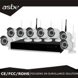 câmara de segurança sem fio do CCTV do jogo de 720p 8CH WiFi NVR