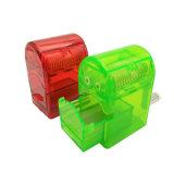 La plastica 3 parti asciuga il frantoio di erbe della smerigliatrice dell'erba per il fumo (ES-GD-120)