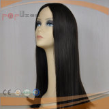 Peluca humana de la tapa del cuero cabelludo del pelo de la Virgen (PPG-l-01245)