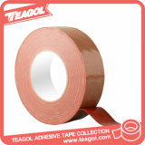 Cinta del paño del color de rosa de la fibra de la materia textil, cinta adhesiva del paño
