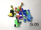 Gldg buntes KLEKS Anlage-Recycler-Becher-Unterseiten-Silikon-Wasser-Rohr-Silikon-Handrohr