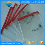 Fermeture à glissière en PVC transparent imprimé personnalisé POLY BAG