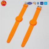 Silikon-GummiRFID Wristband mit NFC Ntag213 FM1108/Identifikation-Tk4100 Em4200 Chip