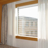 Европейское окно жалюзиих дистанционного управления типа для роскошной дома