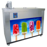 Vitesse rapide 6 moules Making Machine Pop de glace