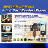 Mp4 et Mp3 et Media Player (joueur d'Advitising Digital)
