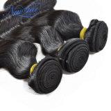 Unprocessed малайзийское выдвижение волос Remy объемной волны