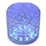 Lanterna solare gonfiabile con i modi infiammanti cambianti e due di 7-Color