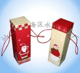Caja de papel del vino (YCWL09001)