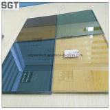Graues bronzefarbiges lamelliertes lamelliertes Glas des Glas-PVB für Fußboden und verzieren Gebäude