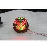 Kundenspezifische 125mm rote grüne Ampel der Lampen-LED