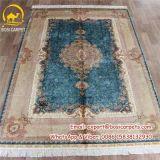 5.5X8FT синего цвета персидский ковер ковров ручной работы из шелка