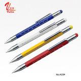 Самый новый конструированный карандаш металла карандаша Customied напечатанный логосом на надувательстве