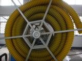 PE tuyau spirale Ligne d'Extrusion de carbone avec la CE