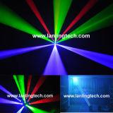 Света луча матрицы лазера RGB диско Moving головные