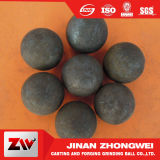 Bola de la laminación en caliente del diámetro 20-150m m para el molino de bola