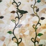 Murales de la pared del mosaico del vidrio manchado del diseño de los modelos del estilo de Europa