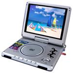 게임, FM를 가진 돌릴수 있는 스크린 DVD 플레이어
