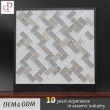 Mattonelle di mosaico del marmo della miscela di cristallo di Foshan per la decorazione della parete