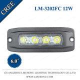 4X4 CREE tous terrains 12W IP67 lumière DEL de travail de 6 pouces