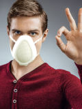 Anti-PM2.5 Plastic Elektrisch slim masker