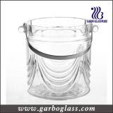 Tanque Enfriador de vidrio de alta calidad con mango de acero inoxidable