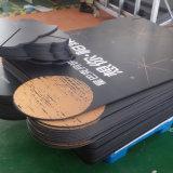黒いPVCプラスチック泡ポスターサンプル広告板