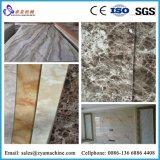 Linea di produzione della scheda della decorazione del PVC/macchina di marmo artificiali