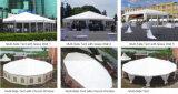 Luxueuse voiture à six pans de l'ABS tente pour montrer 10m de diamètre de 100 personnes places Guest
