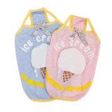 最新のデザインアイスクリームパターンピンクペット衣服(YJ95783-A)