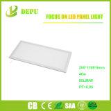 300*1200 Panel LED 40W luz con la CRI>80 80lm/W