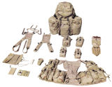 Im FreienCamouflage Sport Military Army Packsack Canvsas Duffel Backpack mit Belts