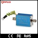 Protecteur de saut de pression coaxial de télévision en circuit fermé de signal vidéo de simple canal