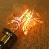 E27 4W Glühbirnen wärmen weiße dekorative LED Edison Art-Glühlampe der Stern-Form-