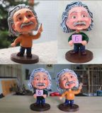 Banheira de venda de resina Personalizada Einstein Bobble Head para presentes