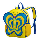 Imperméable Lovely Butterfly Kids Child Student Backpack School Bag