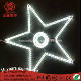 LED Decoração de Natal Light Star Motif Rope Light para Casa Party Garden Holiday Decor