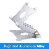 De draagbare Regelbare Laptop van het Aluminium van het Metaal Tribunes van het Stootkussen van de Houder