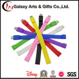 Wristband del silicone del USB stampato Silkscreen su ordinazione Colourful 16GB
