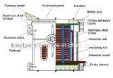 Печь и машина индукции поставкы 100kg Kgps фабрики медные плавя