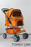 Poussette grand chien 4 roues Outdoor Carrier Pet Strollers