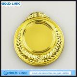 Le métal en laiton antique a gravé le souvenir fait sur commande de pièces de monnaie d'enjeu de médaille d'or