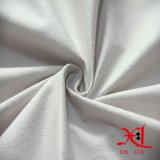 의복 여자 복장을%s 순수한 백색 폴리에스테 스웨드 직물